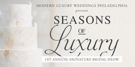 Modern Luxury Weddings Philadelphia presents Seasons of Luxury 2020 tickets