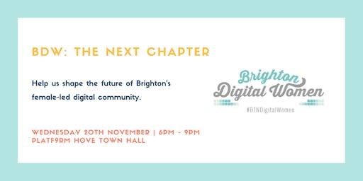 Brighton Digital Women: The Next Chapter