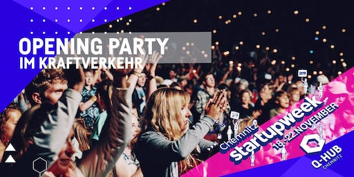 Startup Week: OPENING & COMMUNITY PARTY