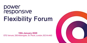 Power Responsive Flexibility Forum