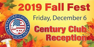 Fall 2019 CENTURY CLUB RECEPTION