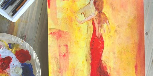 """Chai & Chocolate """"Lady in red"""""""