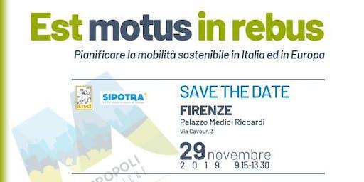 EstMotusInRebus - Pianificare la mobilità sostenibile in Italia e in Europa