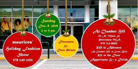 Holiday Fashion Show by maurice's! tickets