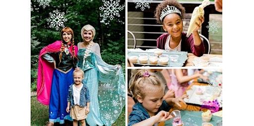 Princess Holiday Cupcake Decorating Party (12-14-2019 starts at 10:00 AM)