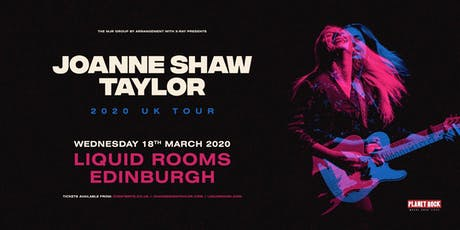 Joanne Shaw Taylor (Liquid Rooms, Edinburgh) tickets