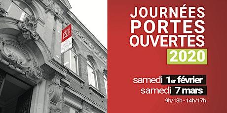 Journées Portes Ouvertes de l'ESJ Lille billets