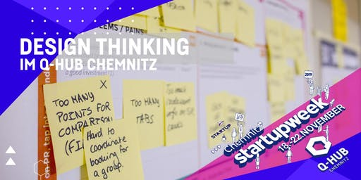 "Startup Week: Workshop ""Design Thinking"""