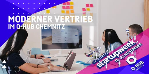 "Startup Week: Workshop ""Moderner Vertrieb"""
