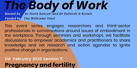 The Body of Work: Pregnancy and Fertility tickets