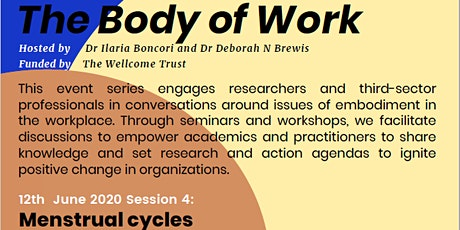The Body of Work: Menstrual cycles tickets