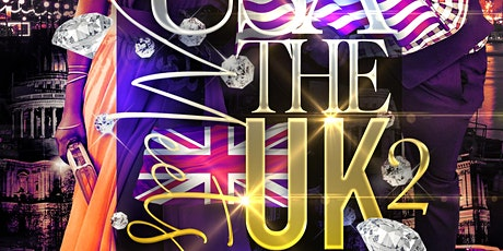 The USA Meets The UK 2 tickets