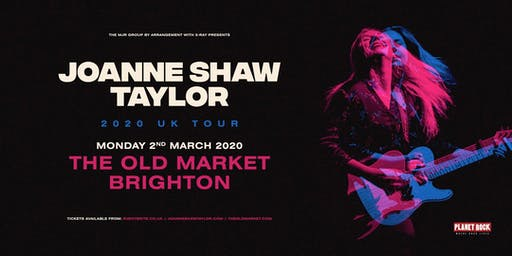 Joanne Shaw Taylor (Old Market, Brighton)