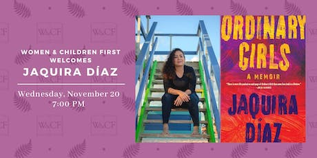 Author Reading: ORDINARY GIRLS by Jaquira Diaz tickets