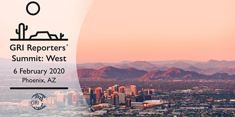 GRI Reporters' Summit North America 2020 - West  tickets