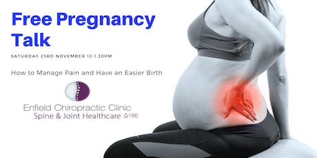 Free talk: How to Have a Comfortable Pregnancy and an Easier Birth tickets