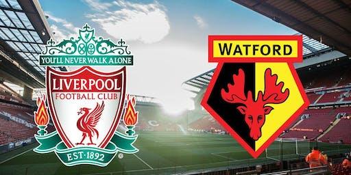 Liverpool vs Watford £10 Burger, Chips And Pint Deal
