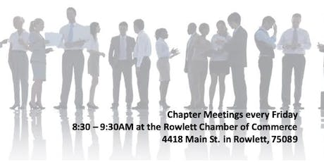Master Networks Rowlett Chamber Chapter Meeting tickets