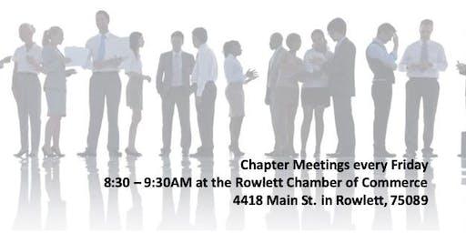 Master Networks Rowlett Chamber Chapter Meeting
