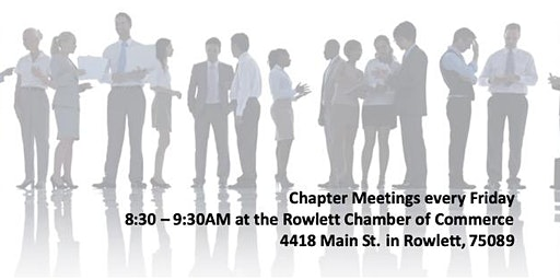 Master Networks Rowlett Chamber Chapter Meeting
