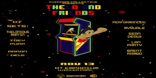 """""""Thelo and Friends"""" with Joey Purp, Myquale, Sean Deaux and More (21+)"""