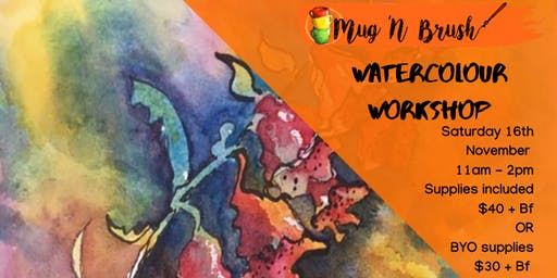 Watercolour workshop - All levels!