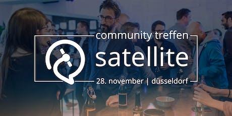 satellive #2: Das satellite Community Treffen in Düsseldorf Tickets