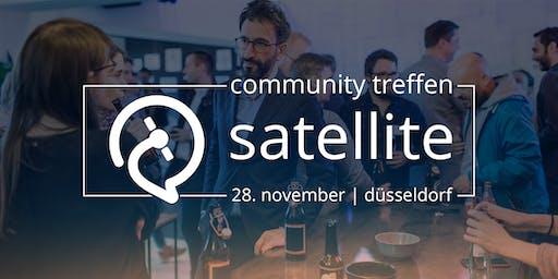 satellive #2: Das satellite Community Treffen in Düsseldorf