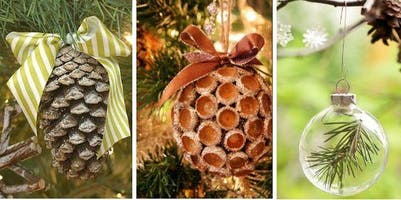 Natural Ornaments and Foraging Workshop