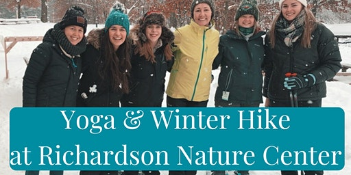Braving the Wilderness - Yoga & Snowshoeing with Jenna Lewins