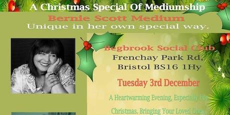 Evidential Evening Of Mediumship with Psychic Medium Bernie Scott - Bristol tickets