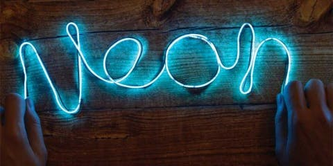Create Your Own Light Up Sign - FREE WORKSHOP