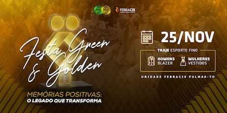 [PALMAS-TO] Festa de Certificação Green e Golden Belt 2019 - 25/11 ingressos