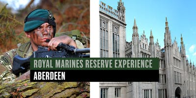 Royal Marines Reserve Experience event - Aberdeen