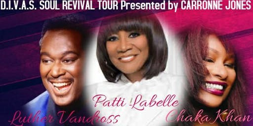 Patti Labelle, Chaka Khan, and Luther Vandross Tribute