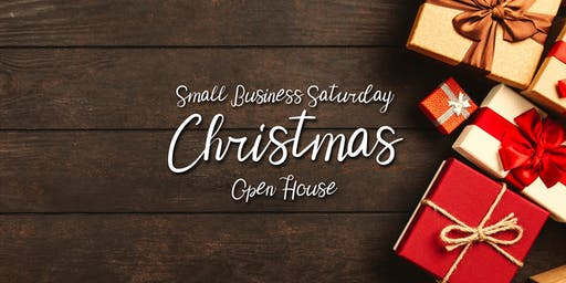 Small Business Saturday Christmas Open House