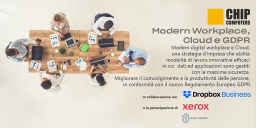 Modern workplace, cloud e GDPR