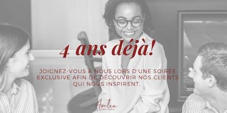 AMLEA AVOCATS: 4 ans déjà; cocktail + networking event billets