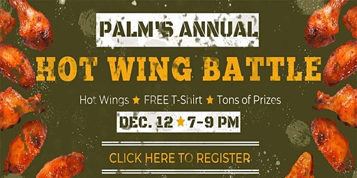 Palm Gardens Hot Wing Contest