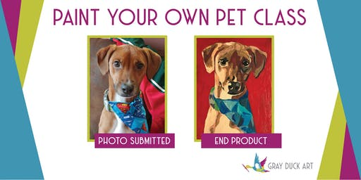 Paint Your Own Pet | Fundraiser for Kristin Chederquist