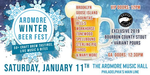 Ardmore Winter Beer Festival