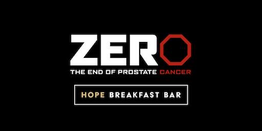 ZERO Prostate Charity Dinner at Hope Breakfast Bar