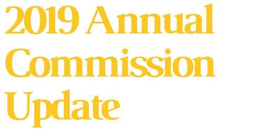 2019 Annual Commission Update- Presented  by Chicago Title **