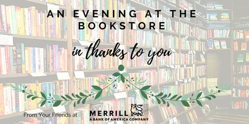 An Evening at the Bookstore in Thanks to You.