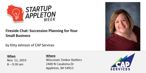 Fireside Chat: Succession Planning for Your Small Business