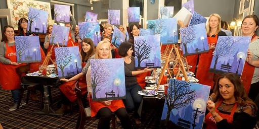 Winter Lights Brush Party - Woburn