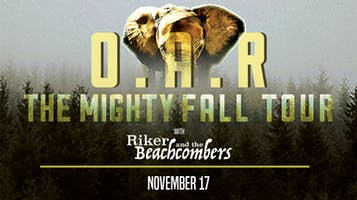 """SiriusXM The Pulse Presents: O.A.R. -- """"The Mighty Fall"""" Tour"""