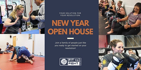 Open House - New Years Resolution! tickets