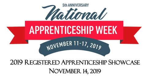 2019 Registered Apprenticeship Showcase
