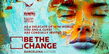 BE THE CHANGE (Barcelona Edition) tickets